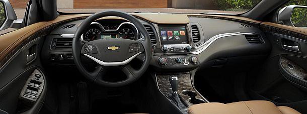 2015 Chevrolet Impala SS Interior
